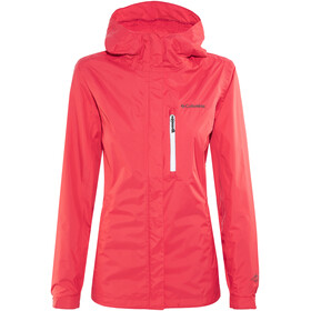 Columbia Pouring Adventure II Jacket Women red camellia/white